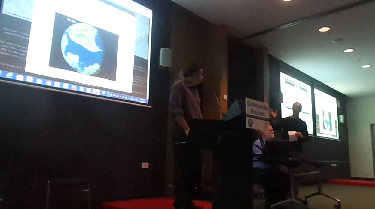 Interactive Artwork Presentation at Ecosciences Precint