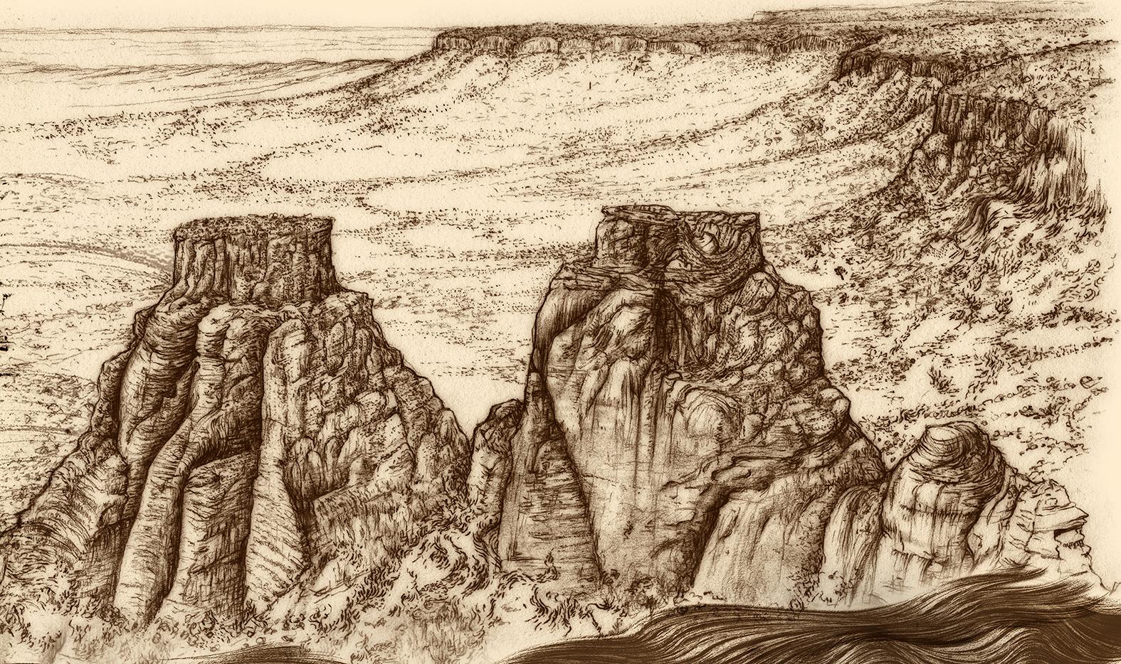 Carnarvon Gorge detail 01 B