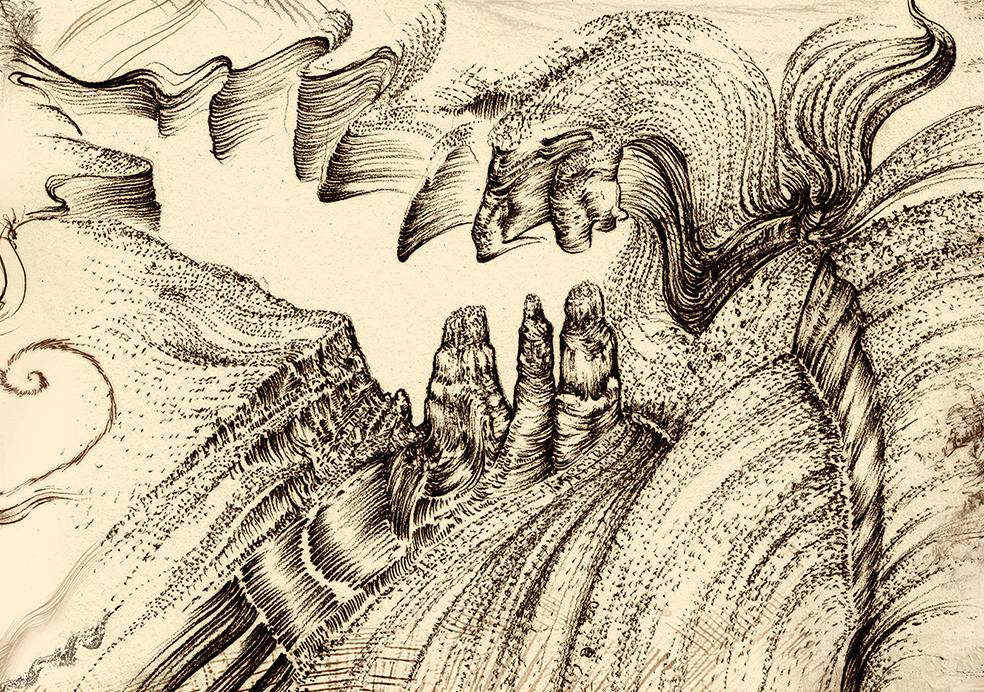 Carnarvon Gorge detail 03