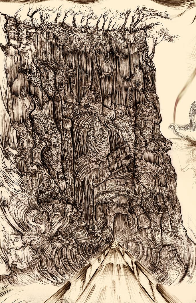 Carnarvon Gorge detail 06