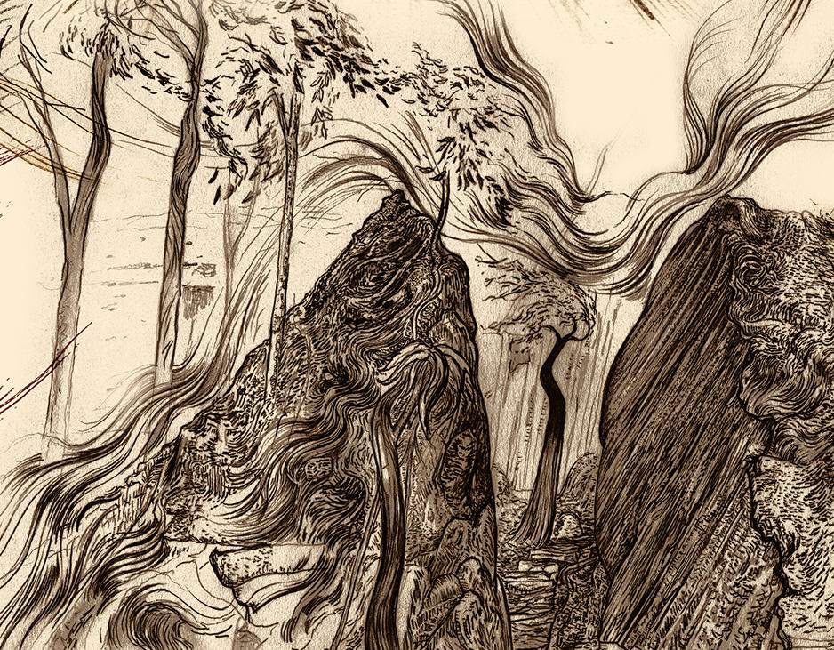 Carnarvon Gorge detail 16