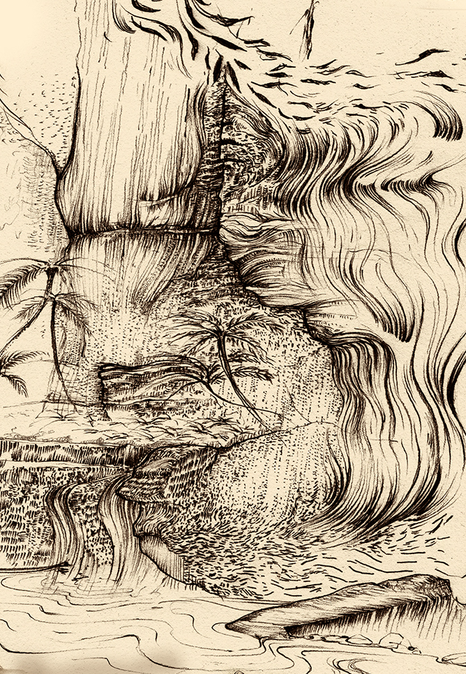 Carnarvon Gorge detail 29