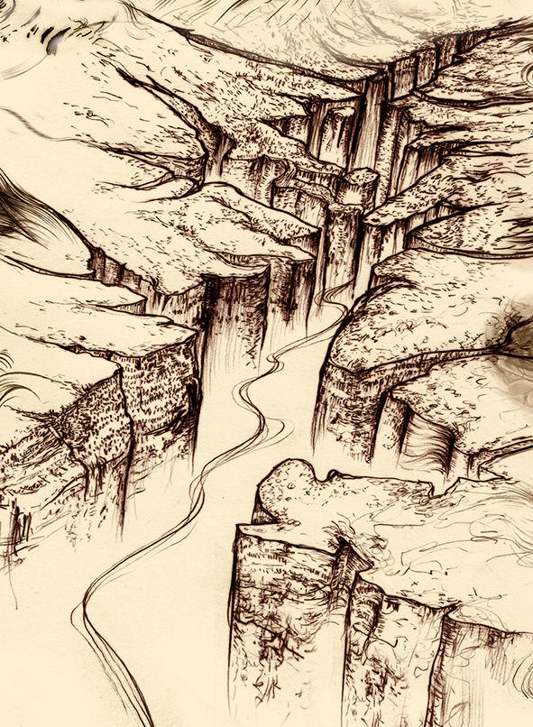 Carnarvon Gorge detail 31